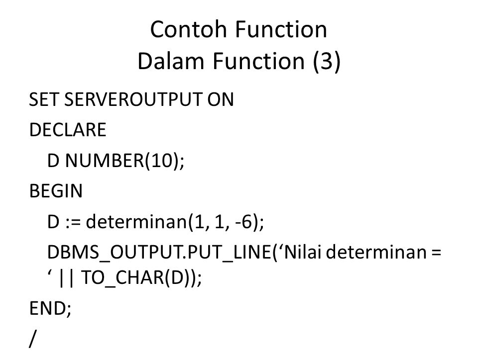 Contoh Function Dalam Function (3)