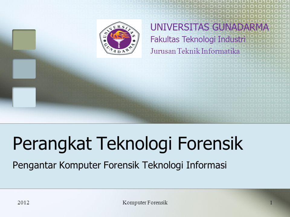 Perangkat Teknologi Forensik