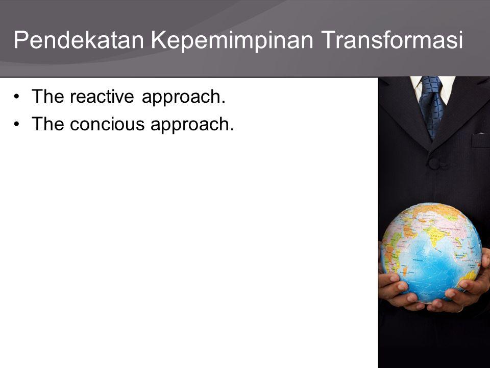 Pendekatan Kepemimpinan Transformasi