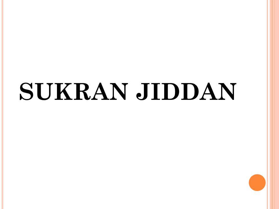 SUKRAN JIDDAN