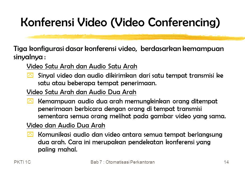Konferensi Video (Video Conferencing)