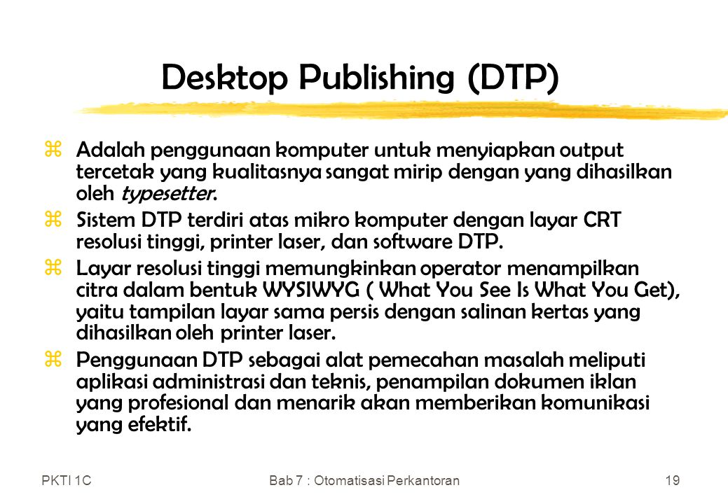 the desktop publishing dtp computer science essay Dtp pulblishing - download as word layout skills on a personal computer desktop publishing software can desktop typesetting with only limited page makeup.