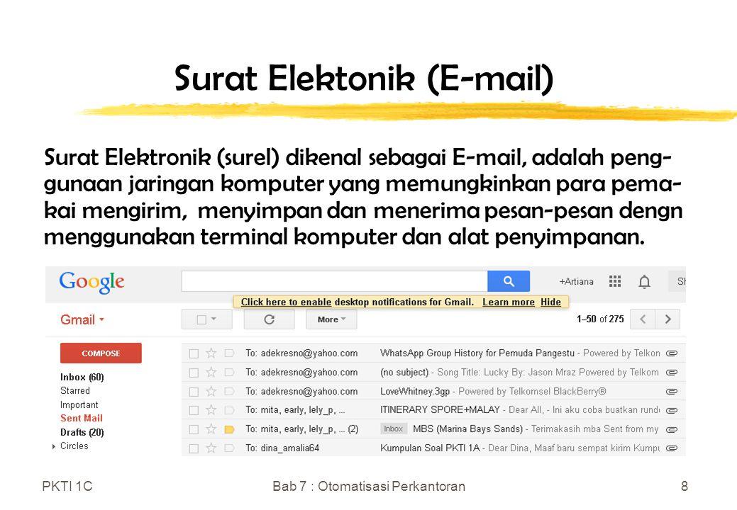 Surat Elektonik (E-mail)