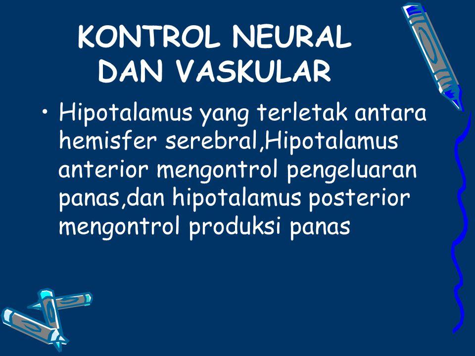 KONTROL NEURAL DAN VASKULAR