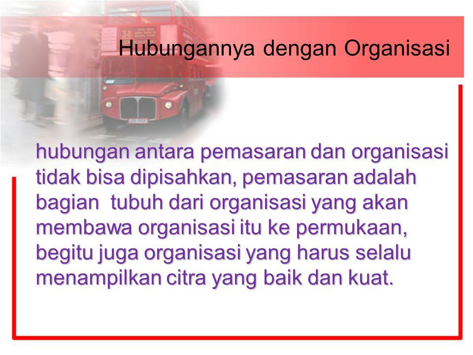 Hubungannya dengan Organisasi