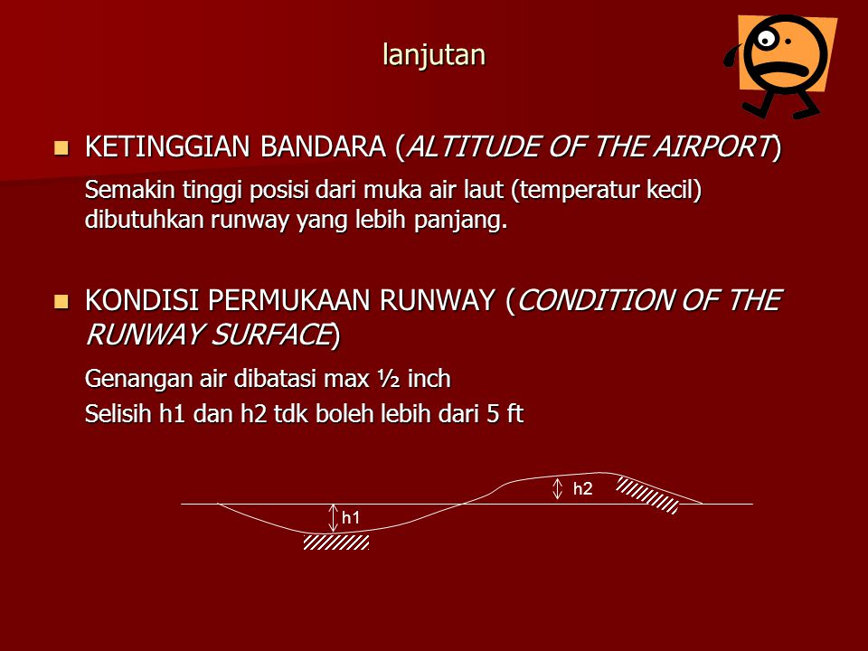 KETINGGIAN BANDARA (ALTITUDE OF THE AIRPORT)