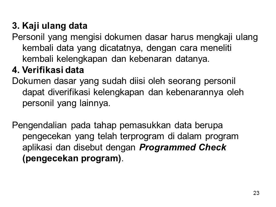 3. Kaji ulang data