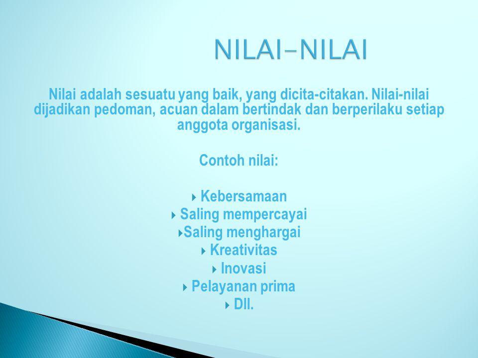 NILAI-NILAI