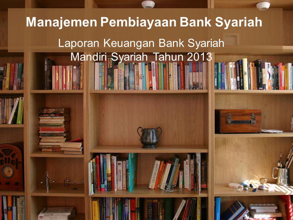 Manajemen Pembiayaan Bank Syariah
