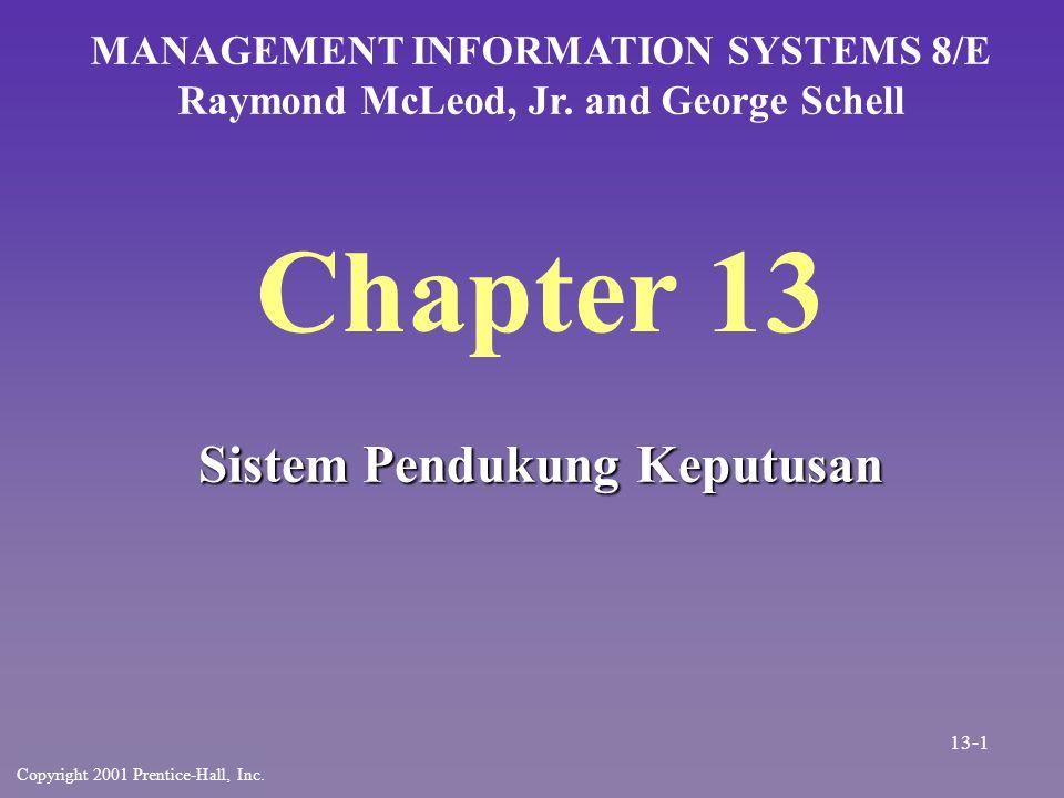 Chapter 13 Sistem Pendukung Keputusan