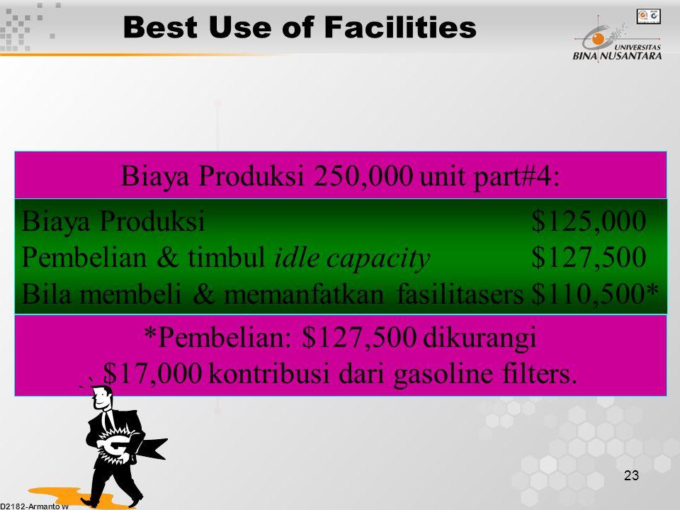 Biaya Produksi 250,000 unit part#4: