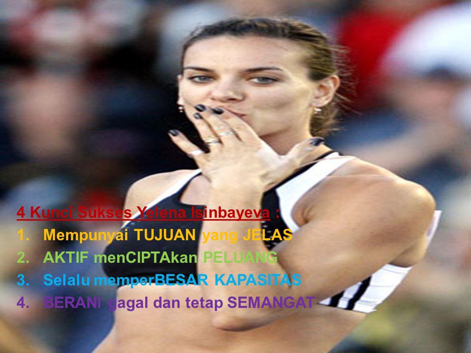 4 Kunci Sukses Yelena Isinbayeva :