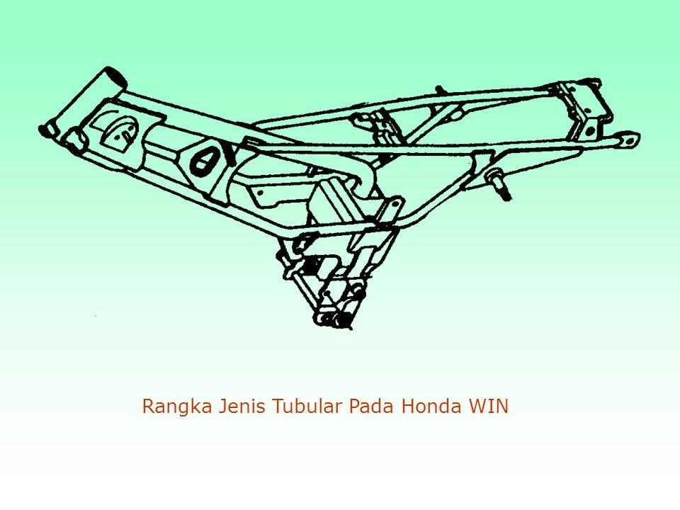 Rangka Jenis Tubular Pada Honda WIN
