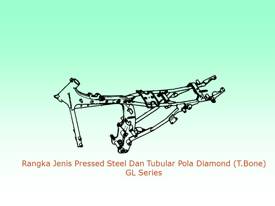 Rangka Jenis Pressed Steel Dan Tubular Pola Diamond (T.Bone) GL Series