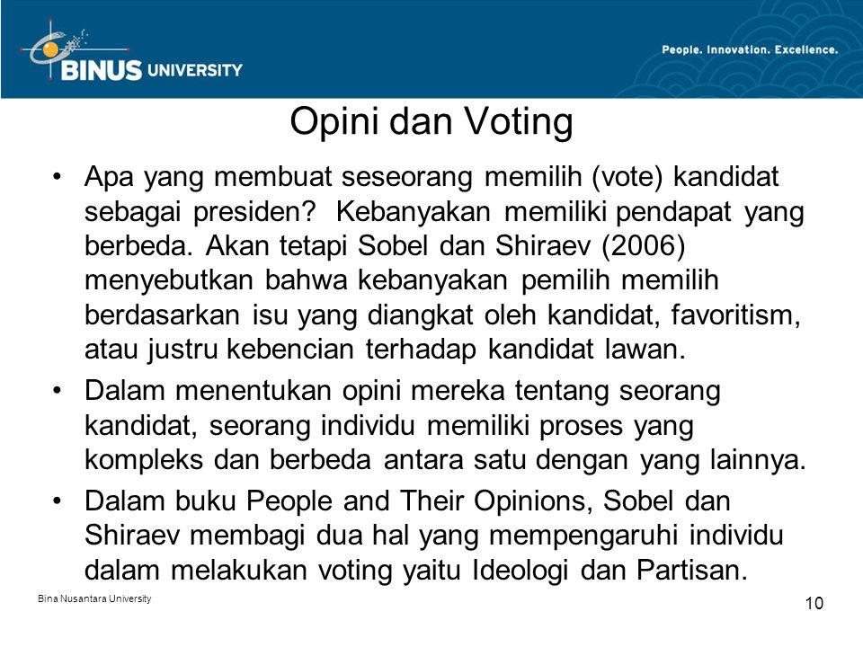 Opini dan Voting