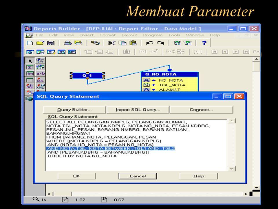 Membuat Parameter