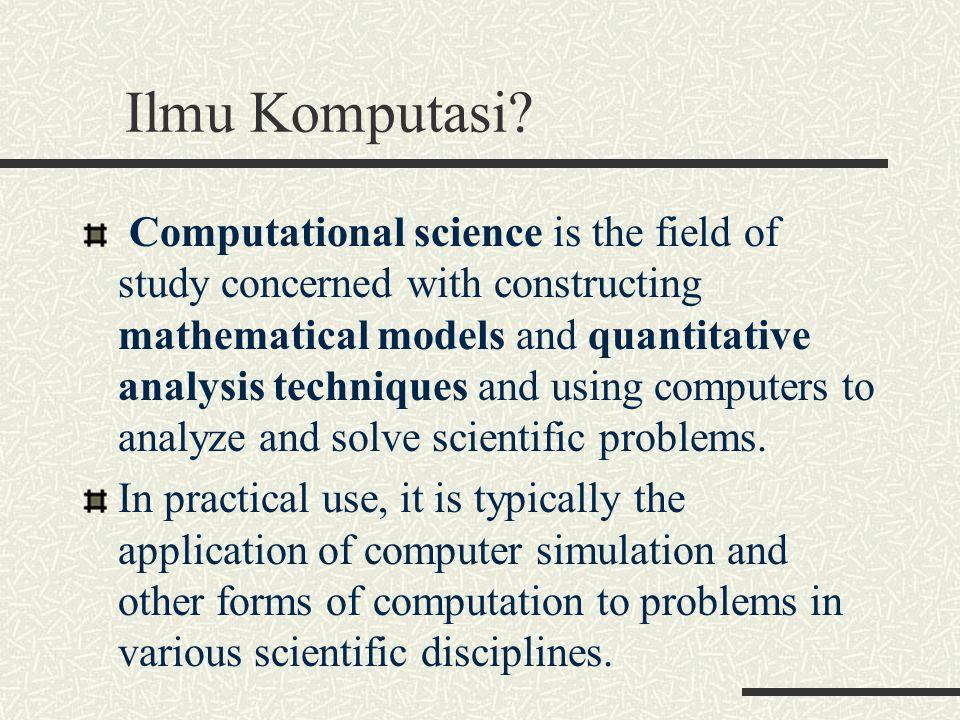 Ilmu Komputasi