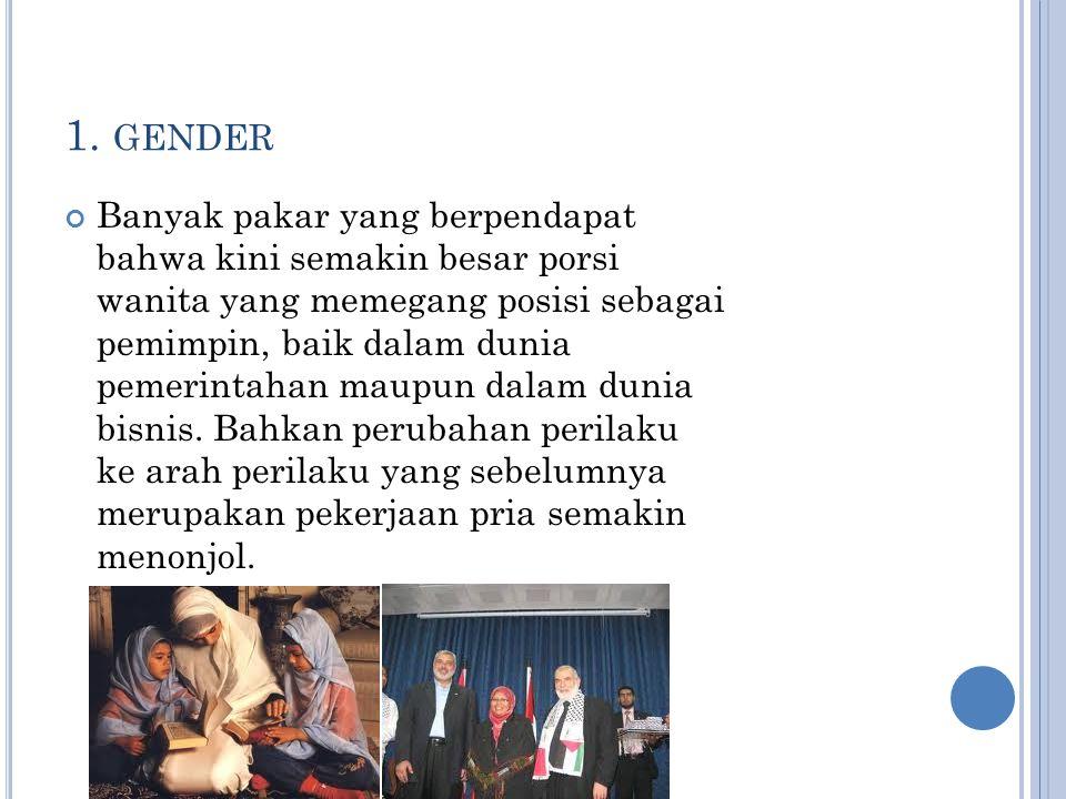 1. gender