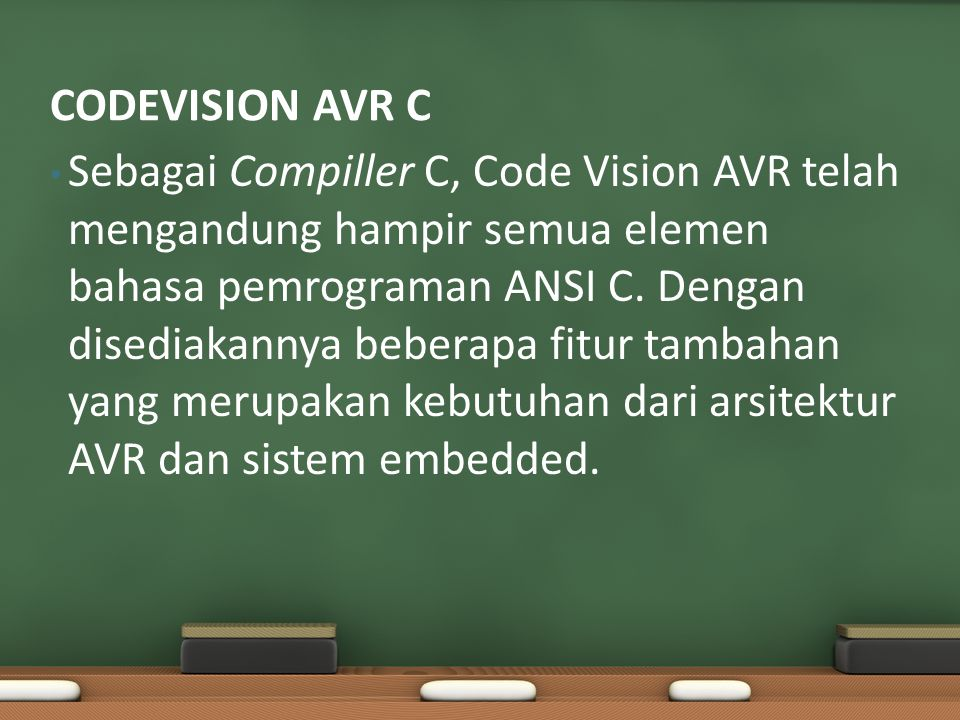 CODEVISION AVR C