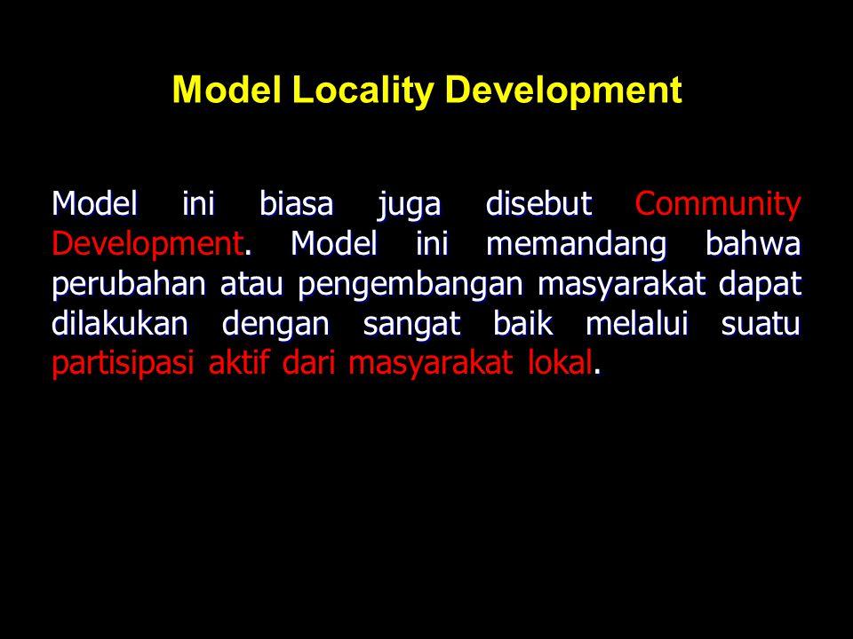 Model Locality Development