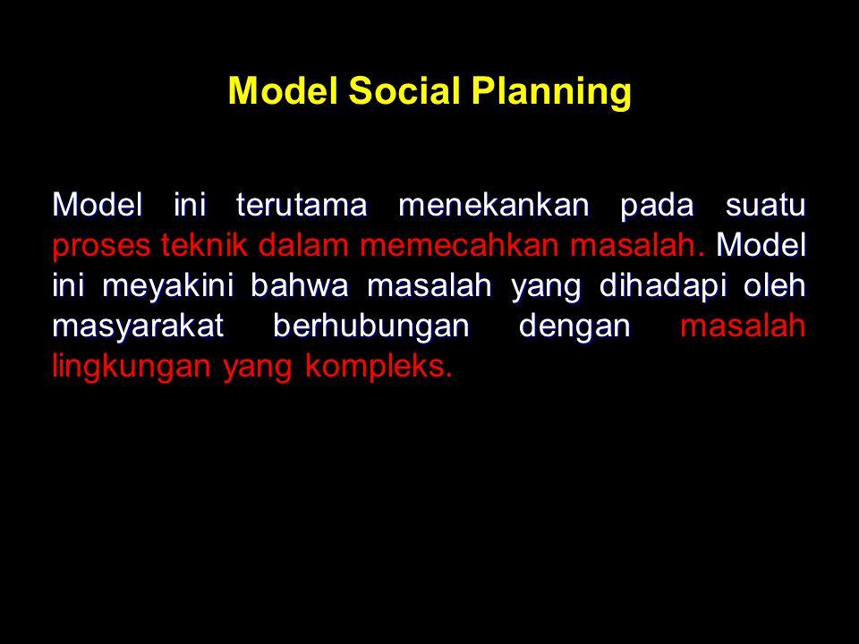 Model Social Planning