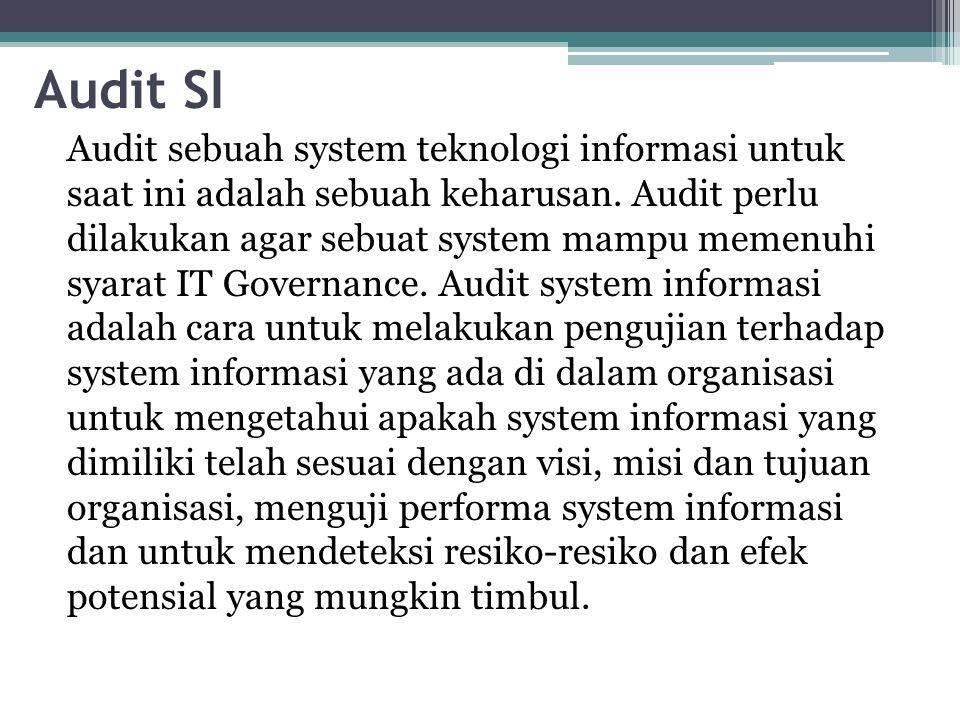 Audit SI