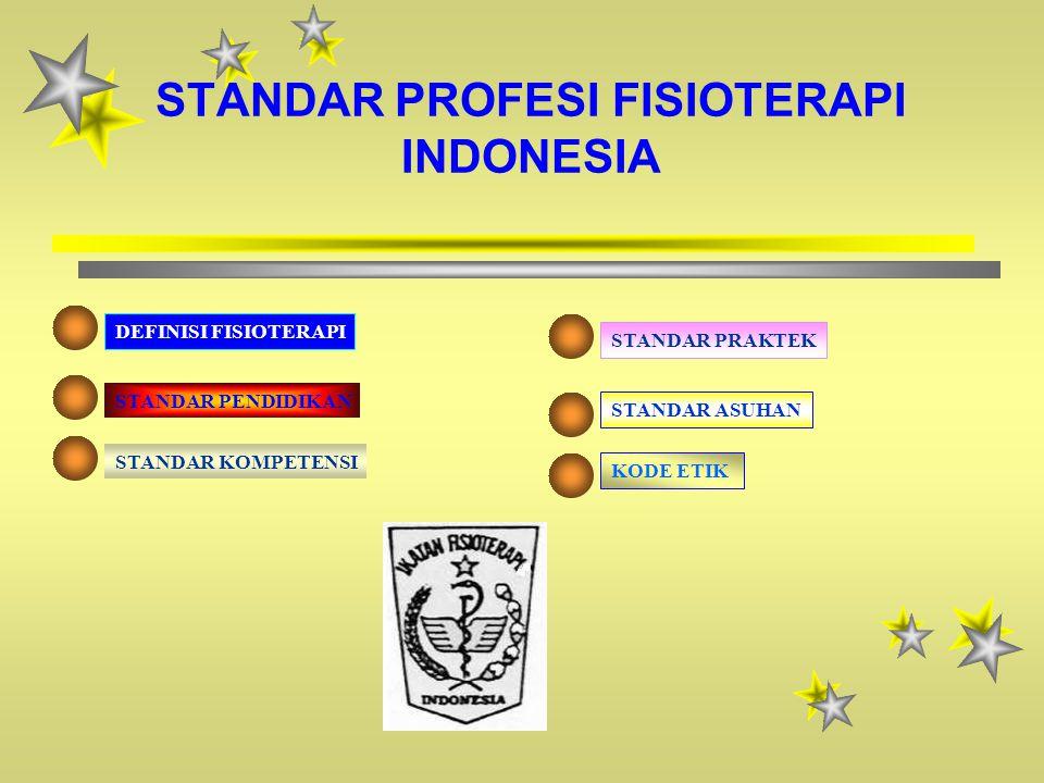 STANDAR PROFESI FISIOTERAPI INDONESIA