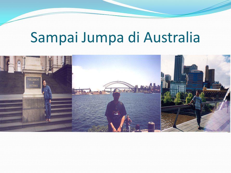 Sampai Jumpa di Australia