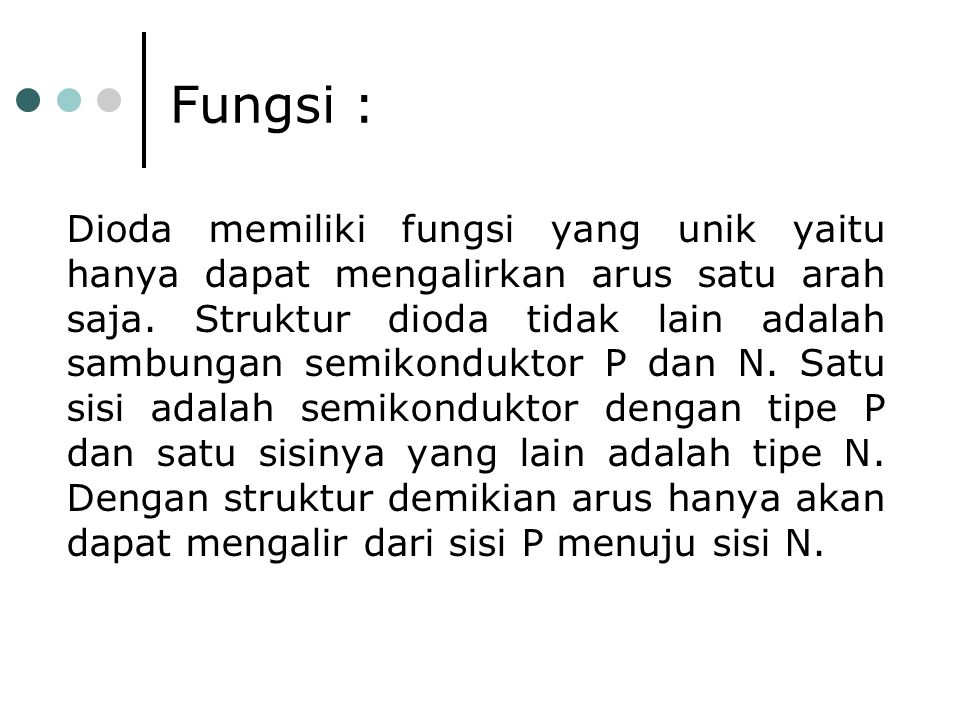 Fungsi :