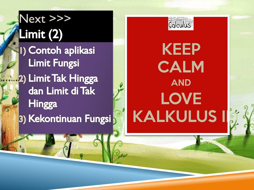 Next >>> Limit (2)