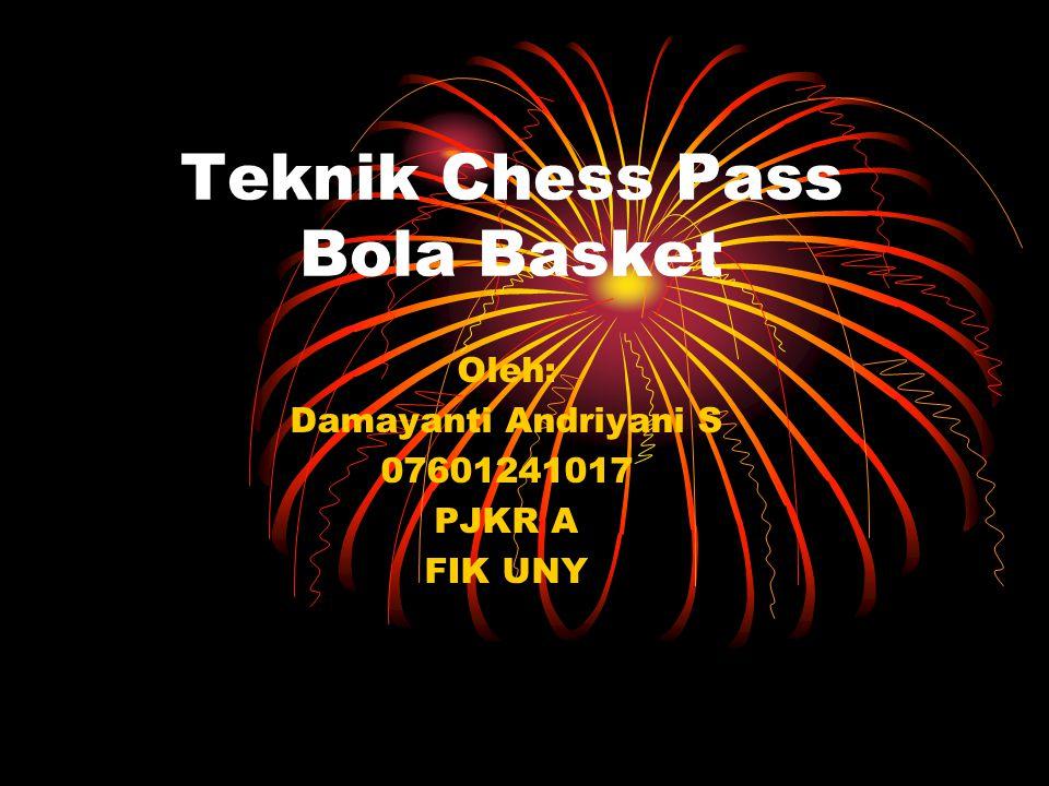 Teknik Chess Pass Bola Basket