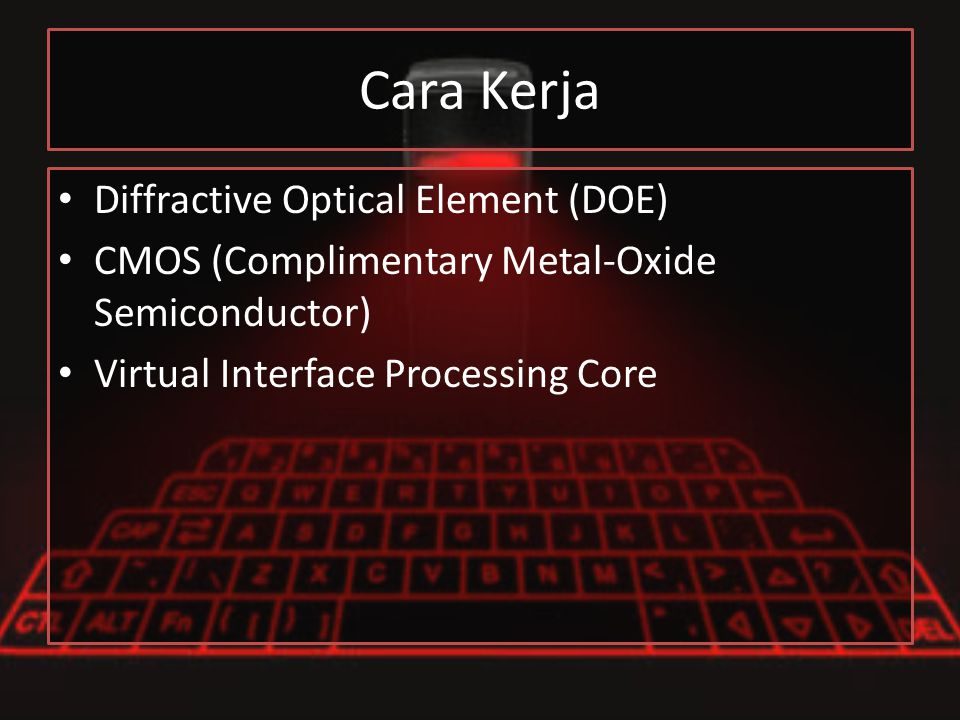 Cara Kerja Diffractive Optical Element (DOE)