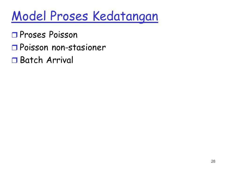 Model Proses Kedatangan