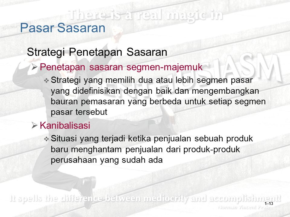 Pasar Sasaran Strategi Penetapan Sasaran