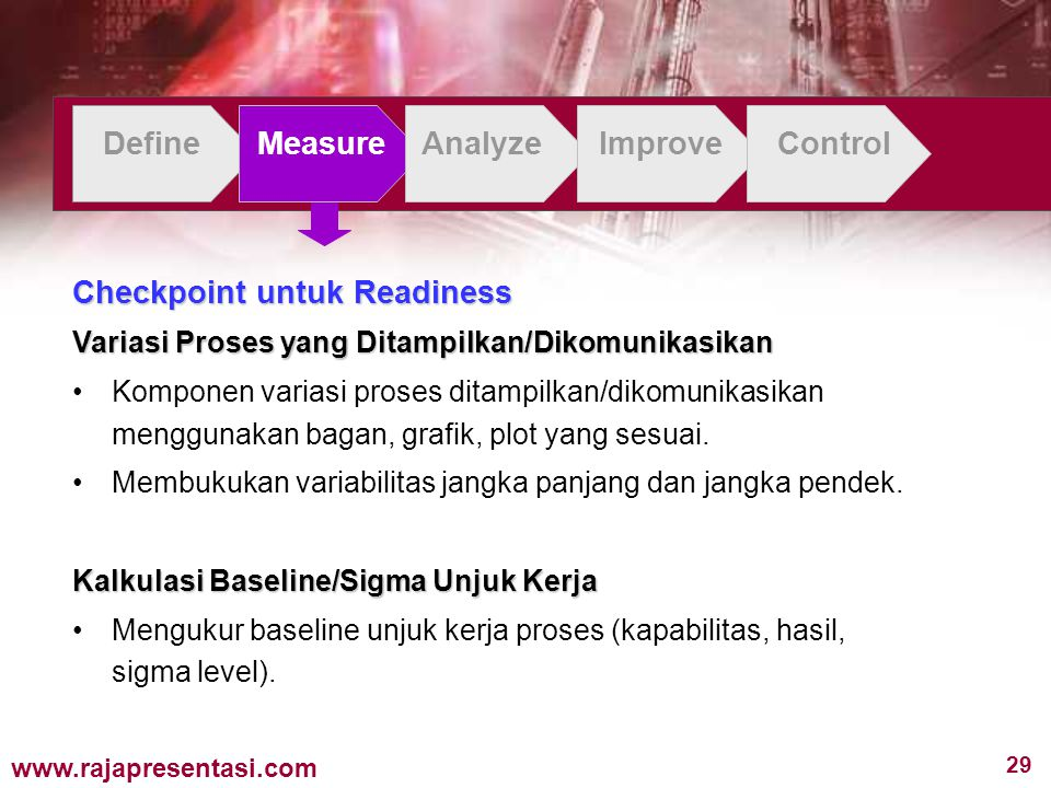 Checkpoint untuk Readiness