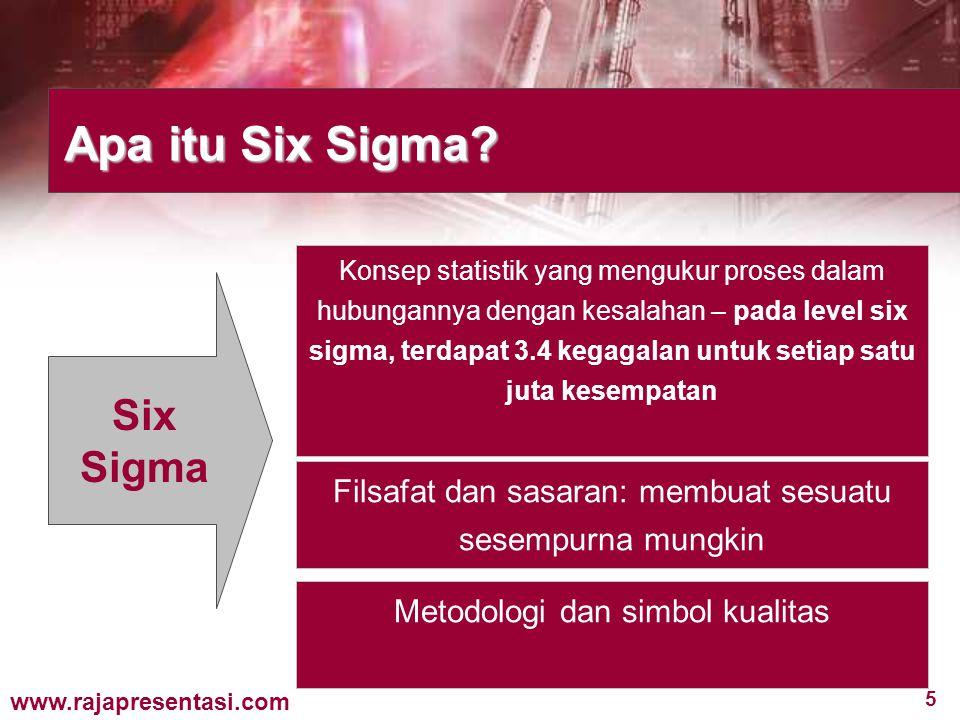 Apa itu Six Sigma Six Sigma