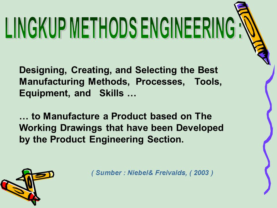 LINGKUP METHODS ENGINEERING :