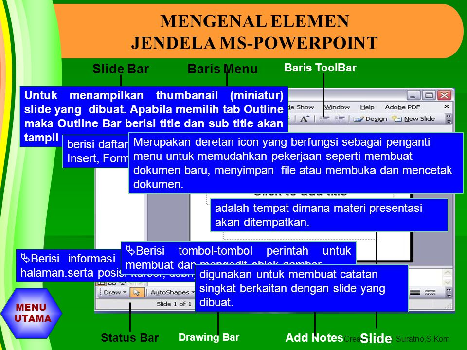 JENDELA MS-POWERPOINT