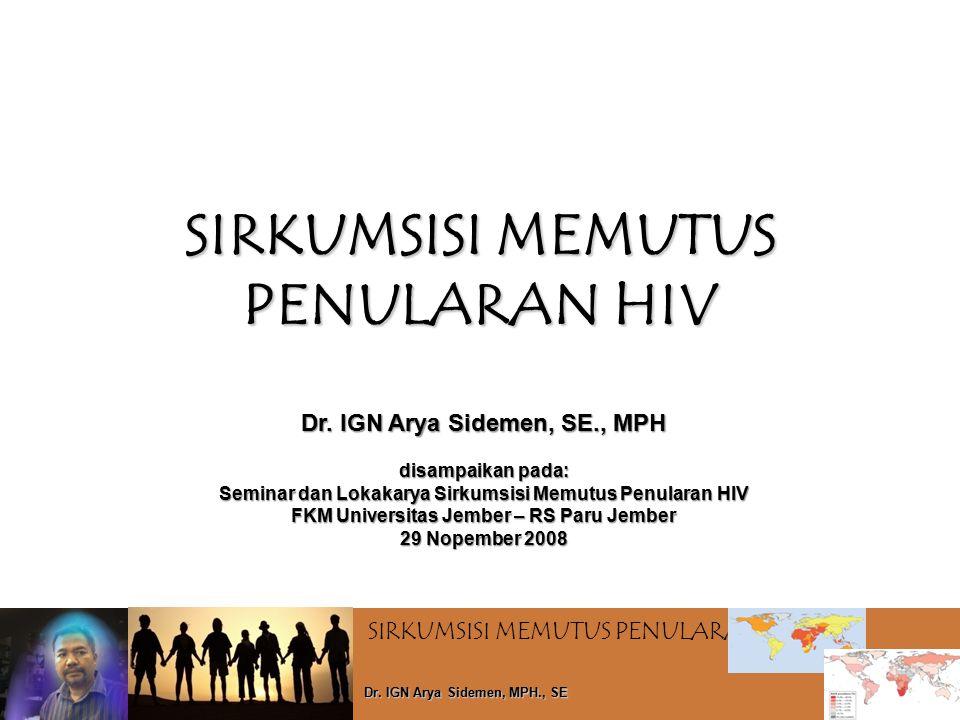 SIRKUMSISI MEMUTUS PENULARAN HIV