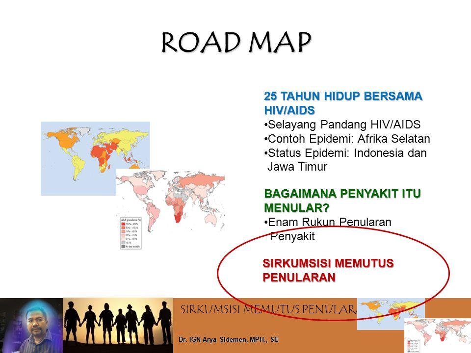 ROAD MAP 25 TAHUN HIDUP BERSAMA HIV/AIDS Selayang Pandang HIV/AIDS