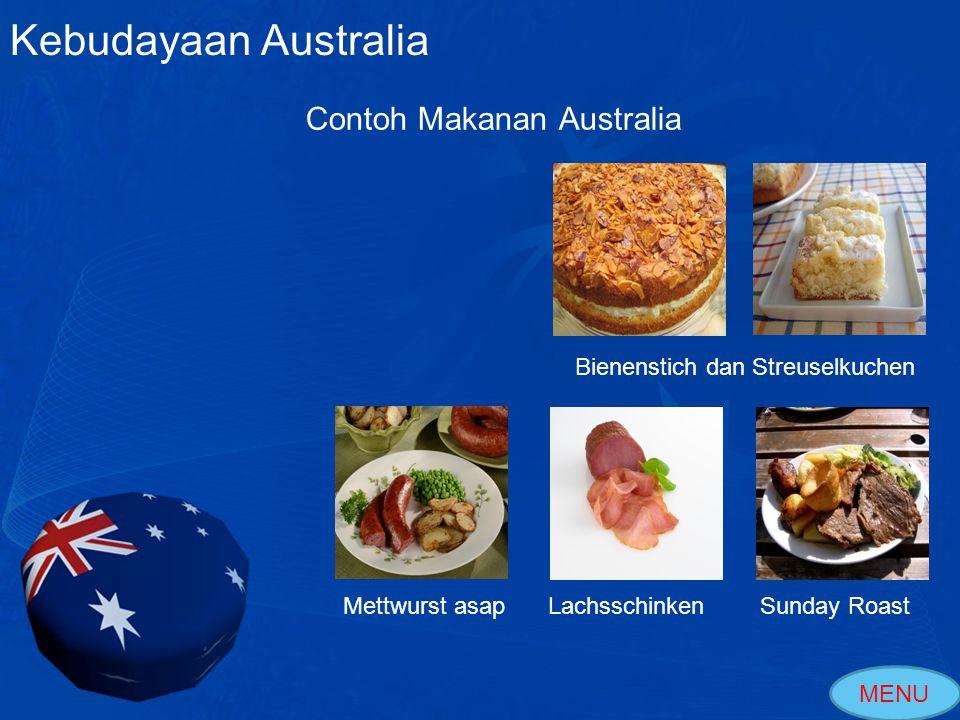 Kebudayaan Australia Contoh Makanan Australia