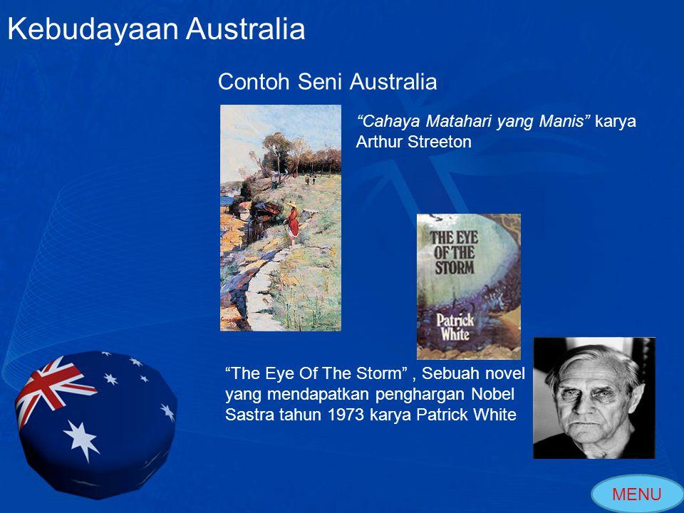 Kebudayaan Australia Contoh Seni Australia