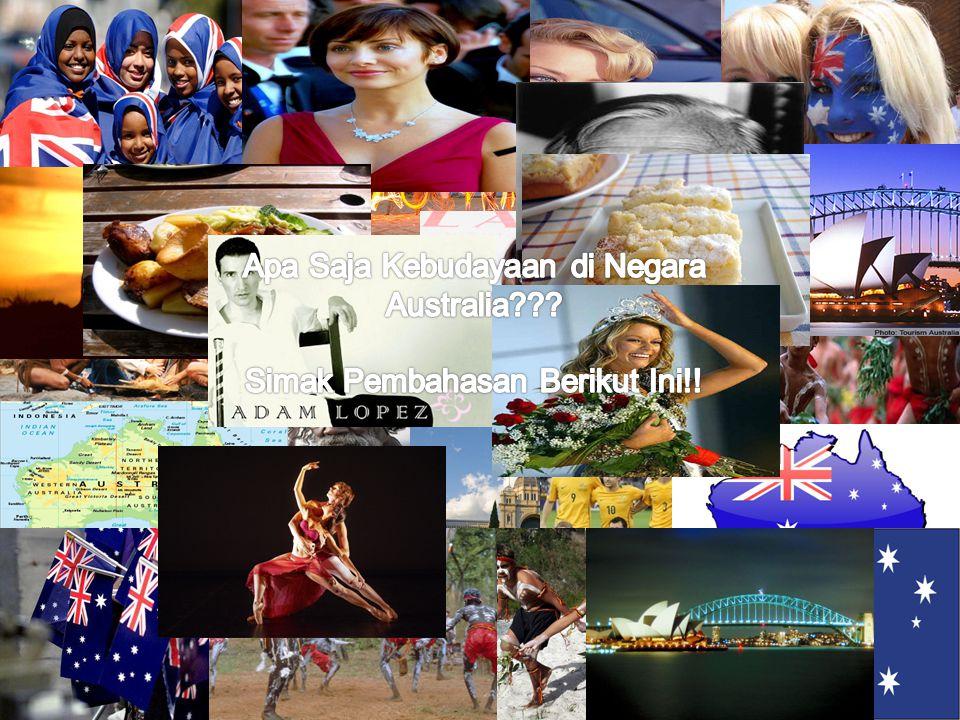 Apa Saja Kebudayaan di Negara Australia