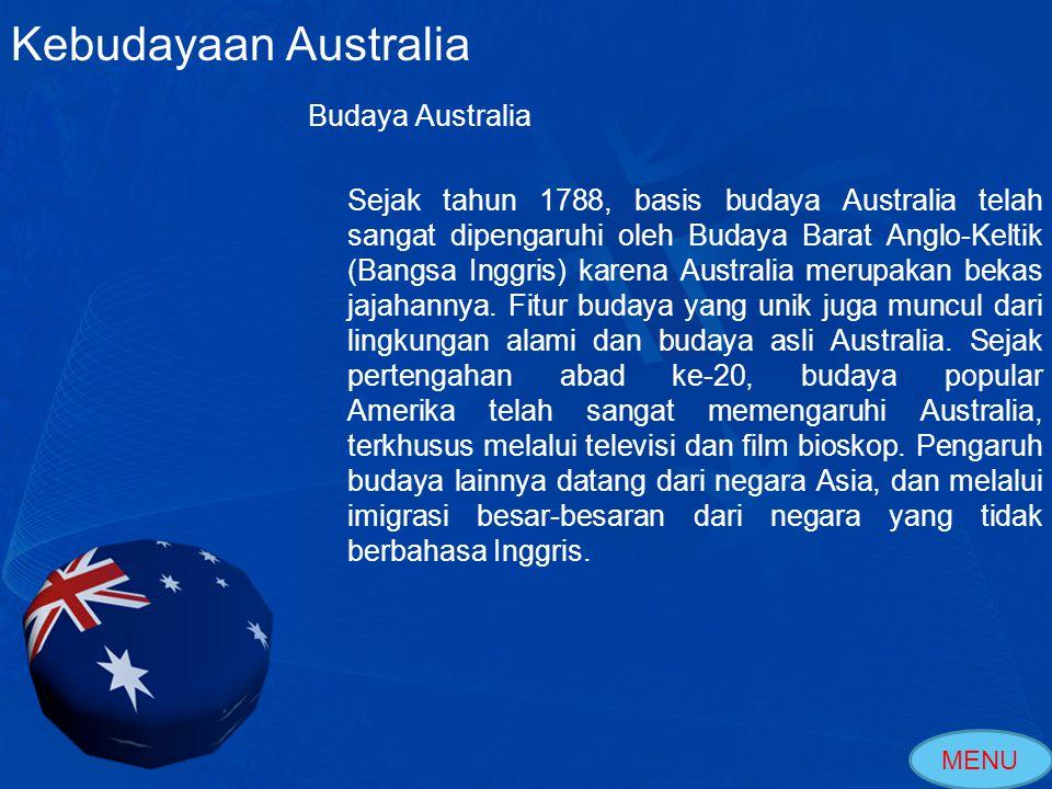 Kebudayaan Australia