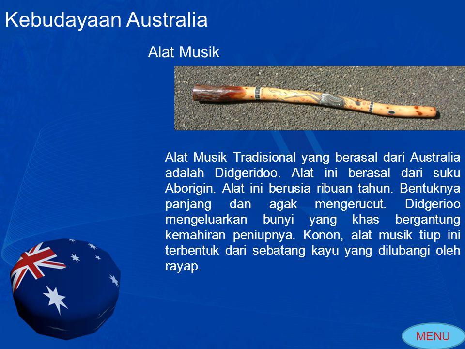 Kebudayaan Australia Alat Musik