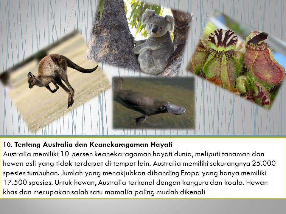 10. Tentang Australia dan Keanekaragaman Hayati