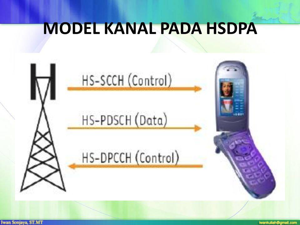 MODEL KANAL PADA HSDPA Gambar : Model Kanal HSDPA.