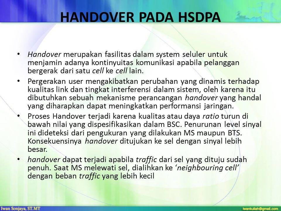 HANDOVER PADA HSDPA