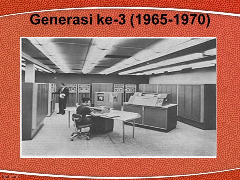 Generasi ke-3 (1965-1970)