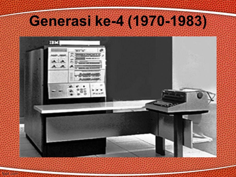 Generasi ke-4 (1970-1983)